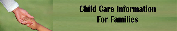 Child Care Information for Families