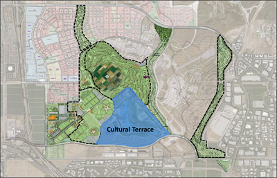 Cultural Terrace District Planning Map